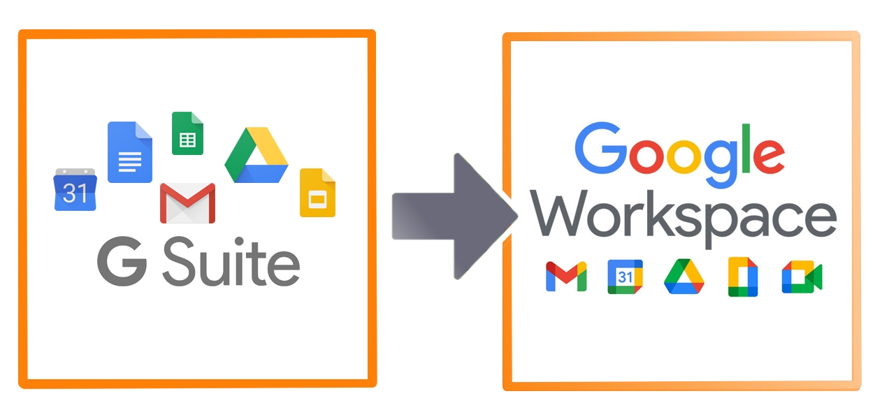 G Suite migrating to Google Workspace