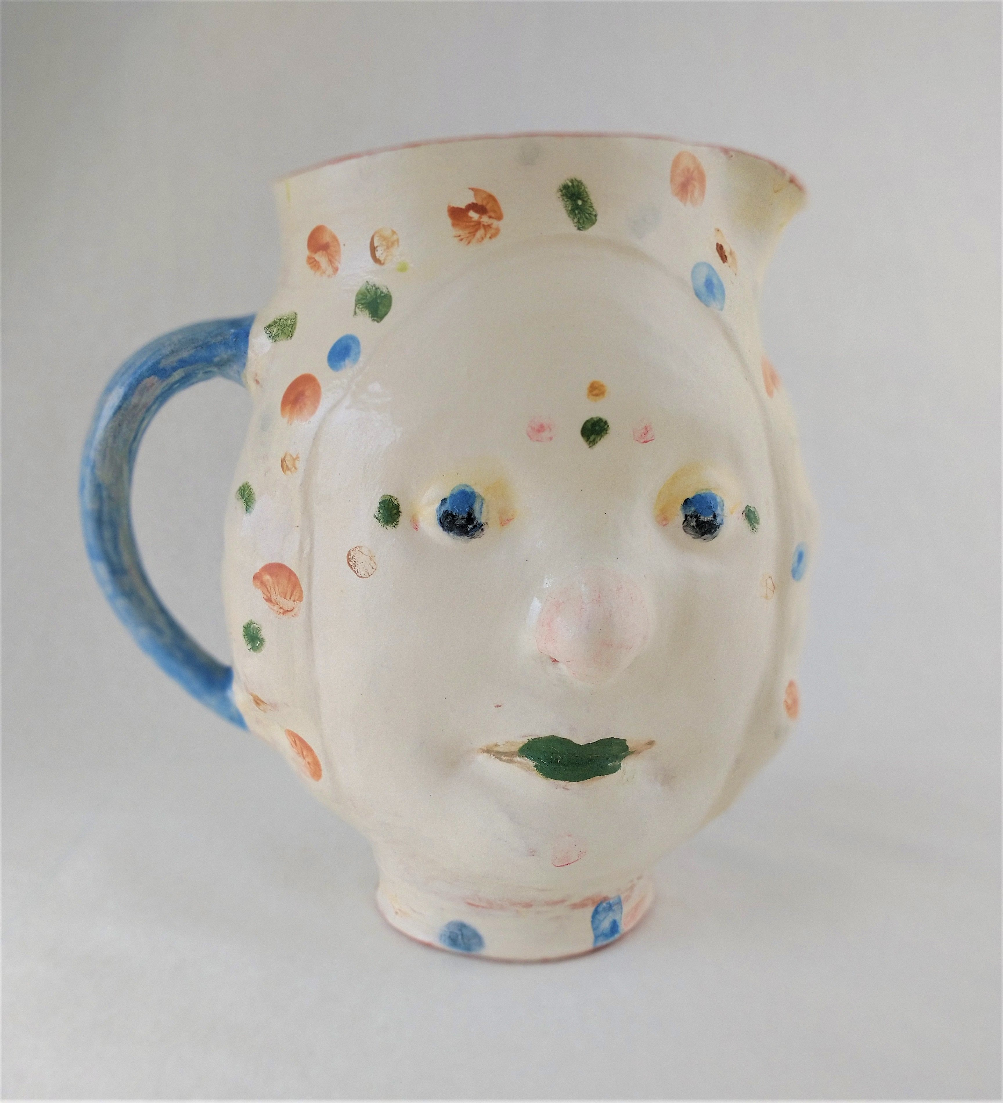 Ceramic jug by Christine Thacker. Courtesy of the artist and AVID Gallery