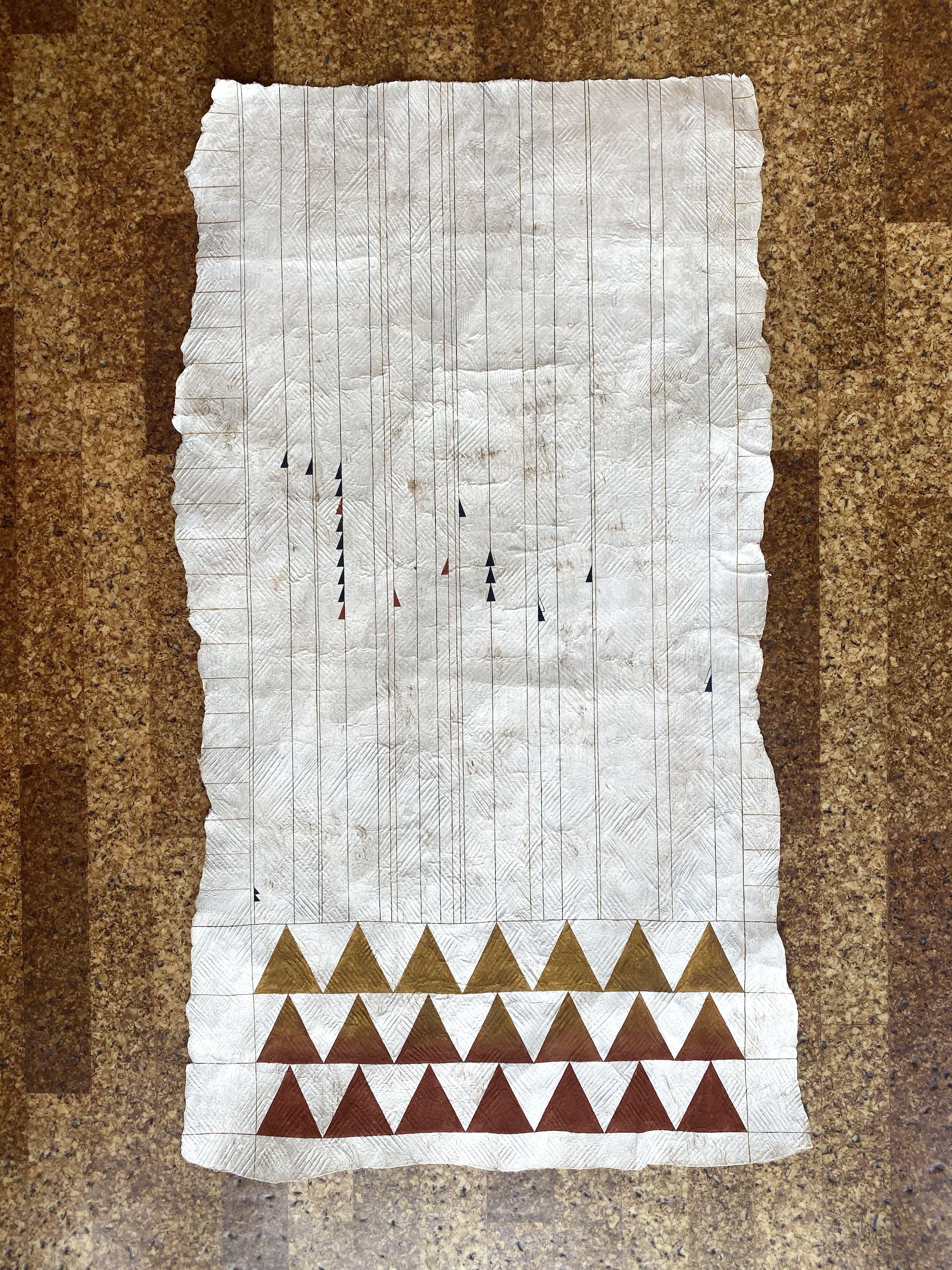 Nikau Hindin, Te Ao Karere. 6.30. 26.04.1925, 2021. Kiingi Tuheitia Portraiture Award Finalist.