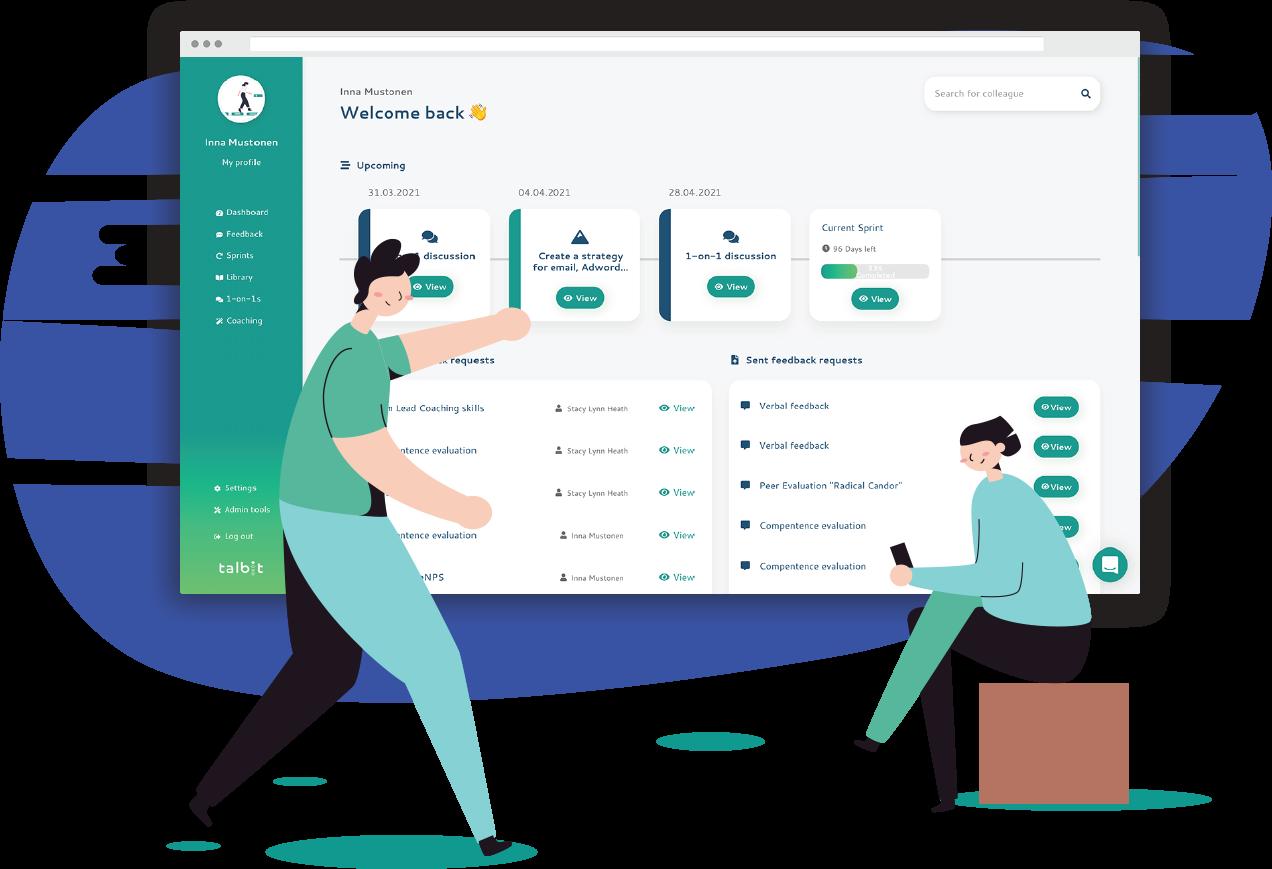 talbit strategic agile talent development platform