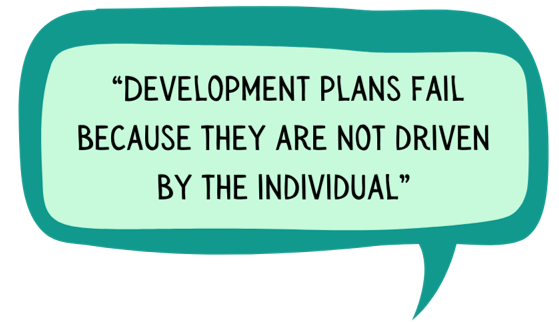 development plans fail because they are not individual-driven