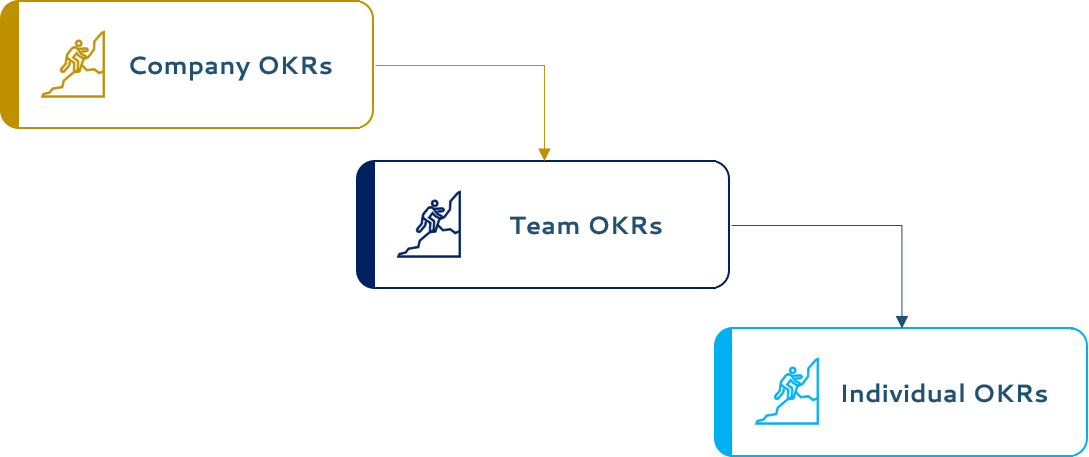 Company, Team, and Individual OKRs