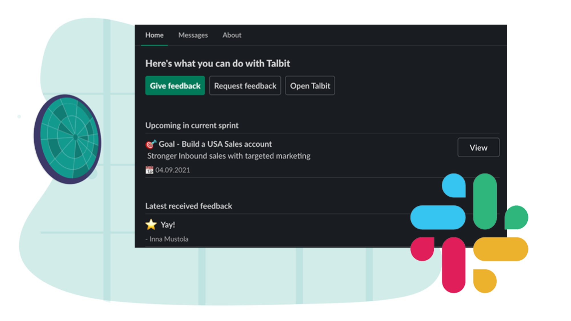Talbit product update – May 2021