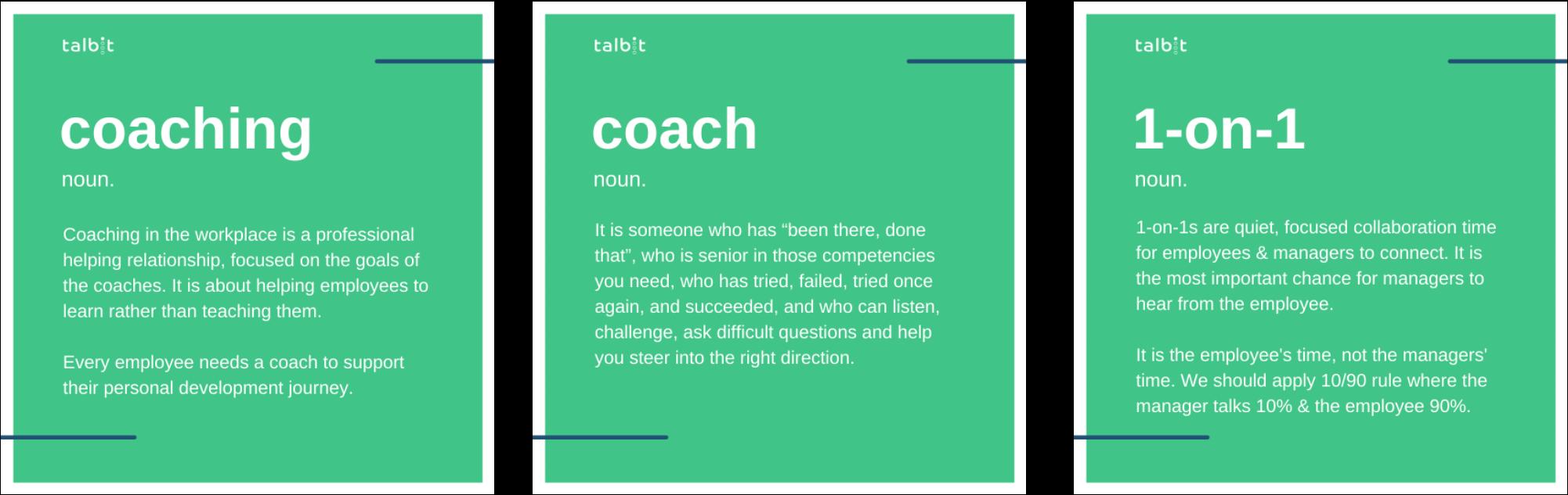 coaching 1-on-1s