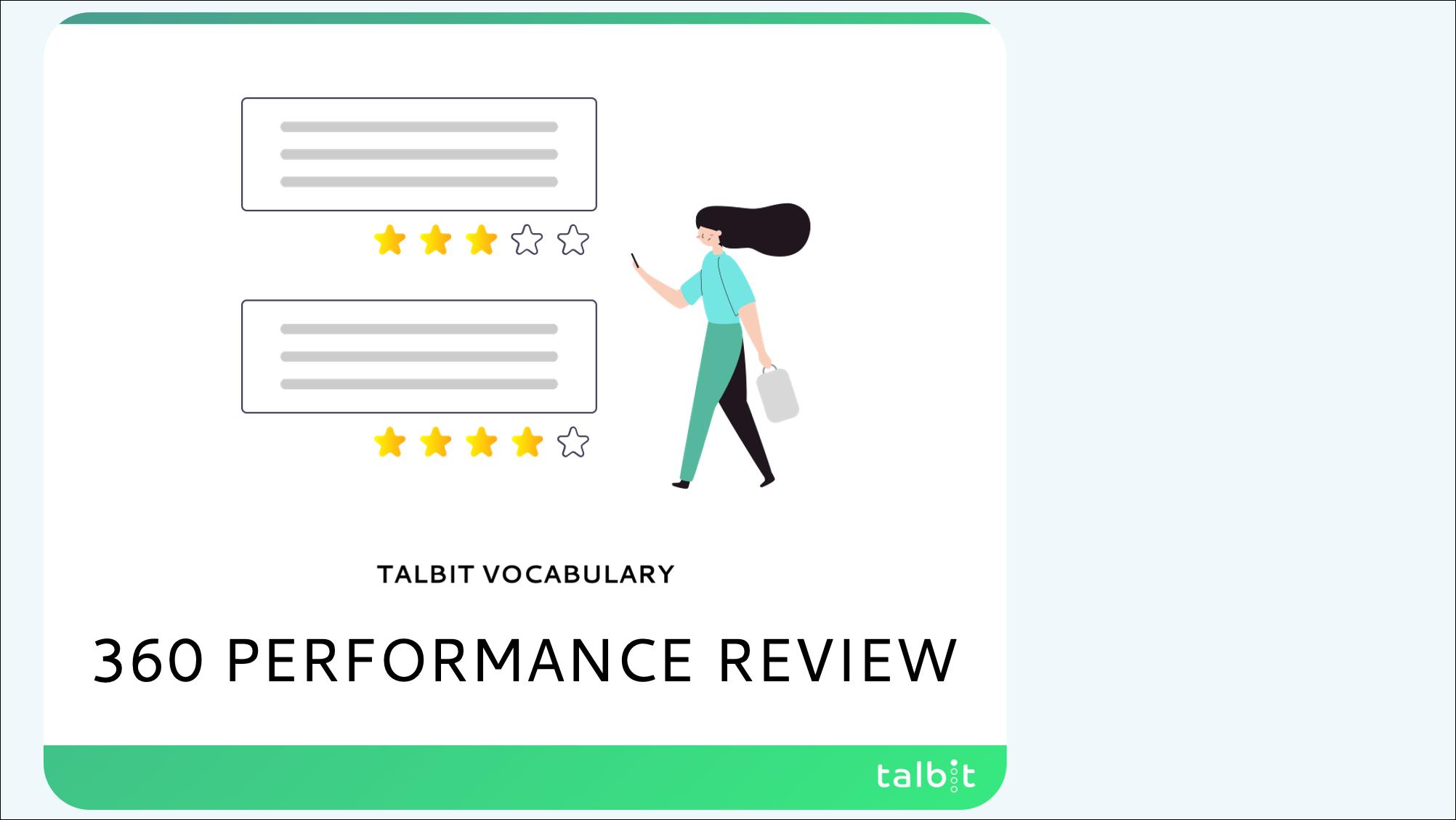 Vocabulary: 360 Performance Review