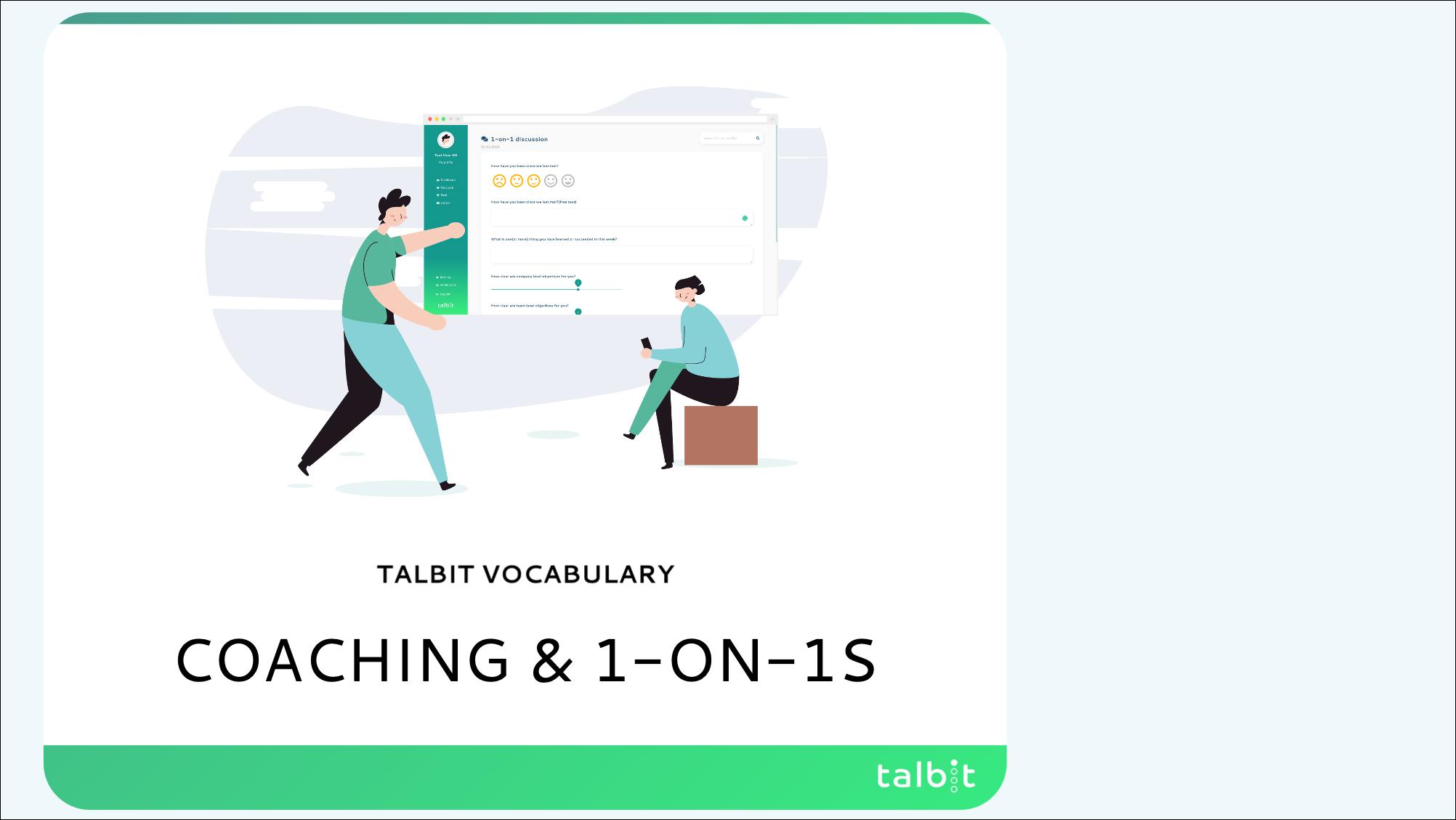 Vocabulary: Coaching & 1-on-1s