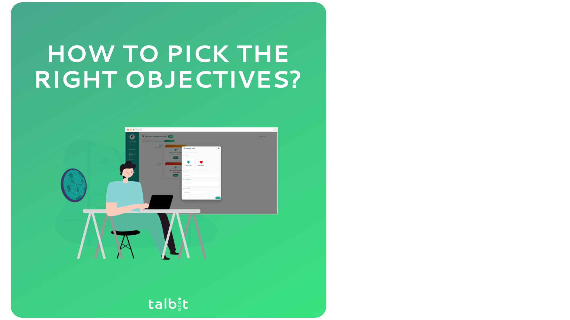 How to pick the right Objectives?