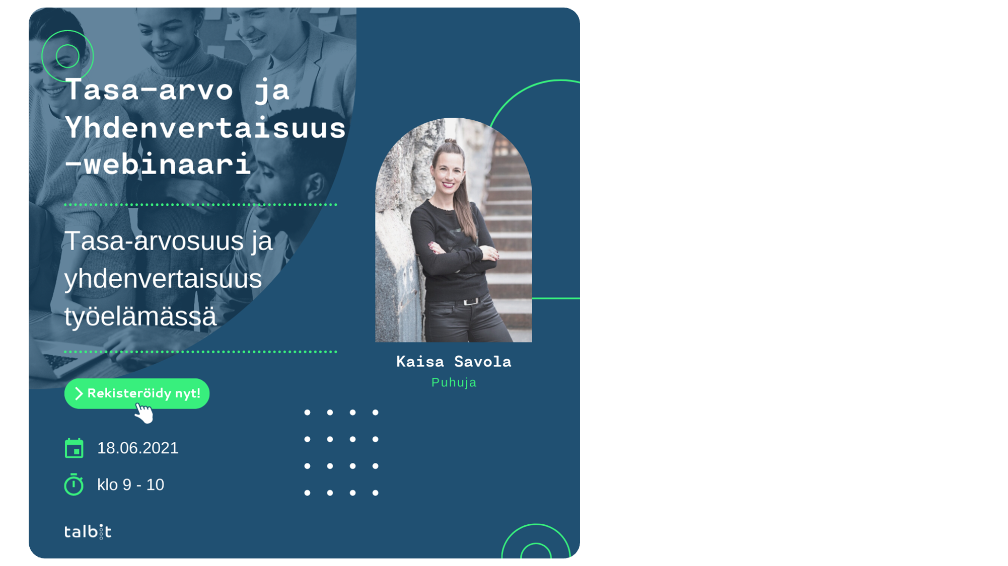 Equity & Inclusion In The Workplace (in Finnish)