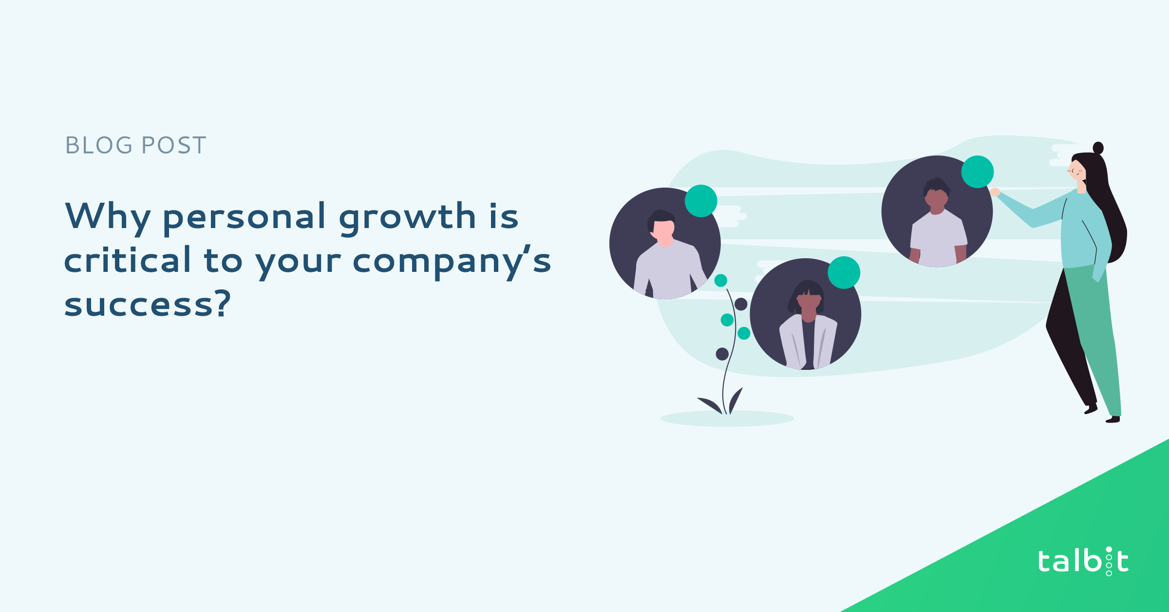 Why personal growth is critical to your company's success?