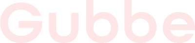 Gubbe.io logo in pink