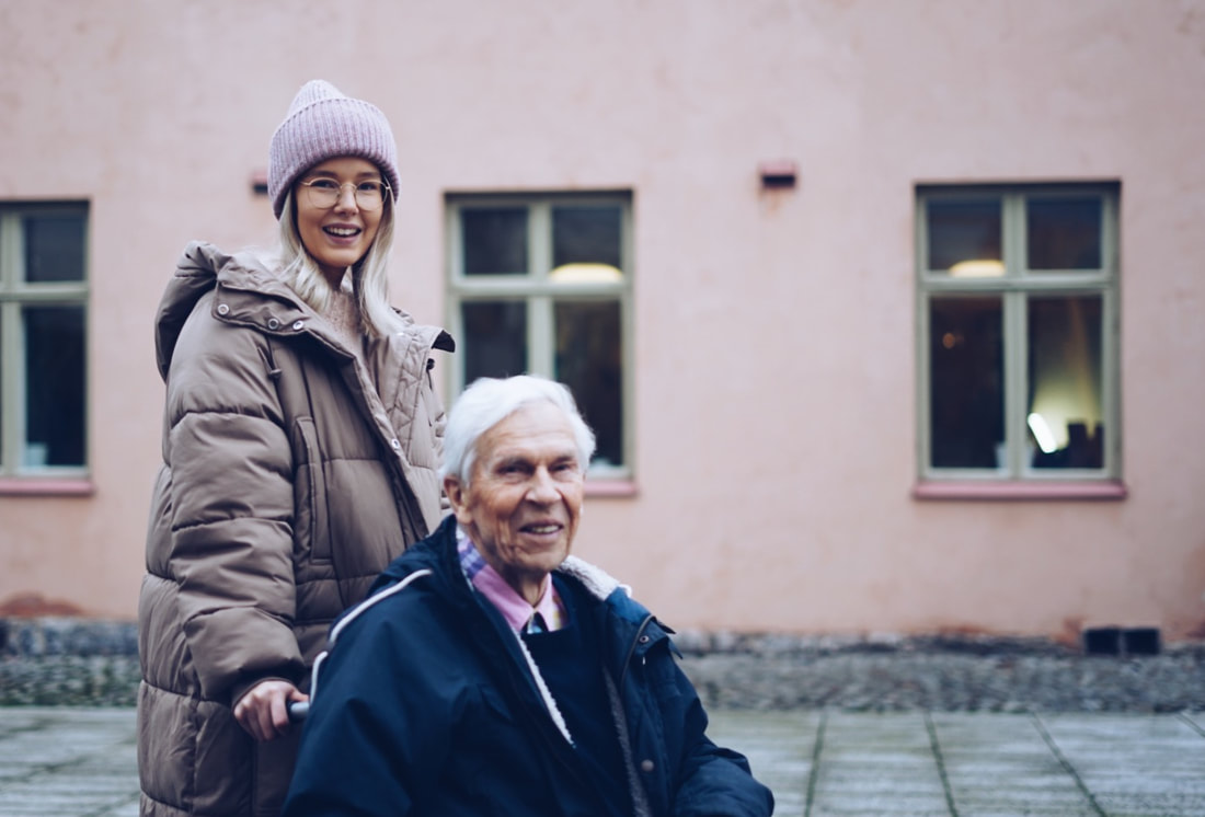 gubbe with elderly