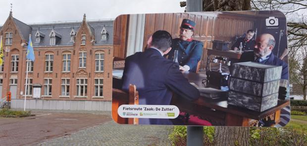 Fietsroute Zaak De Zutter