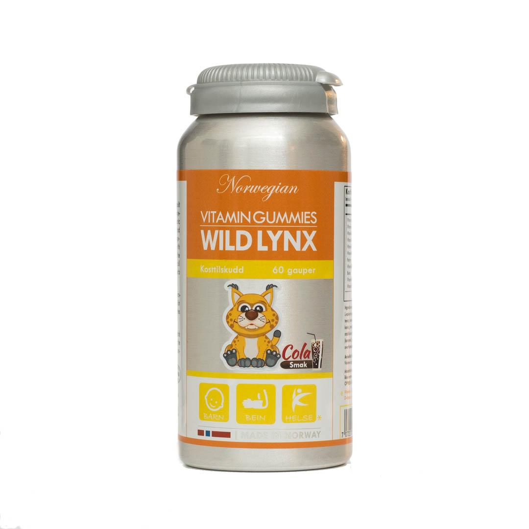 Vitamingummies Wild Lynx