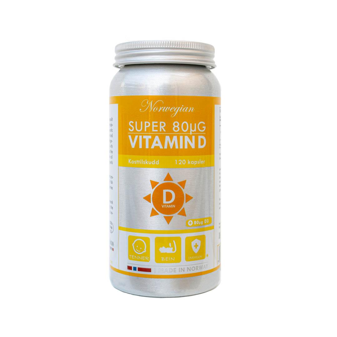 Super 80μG Vitamin D