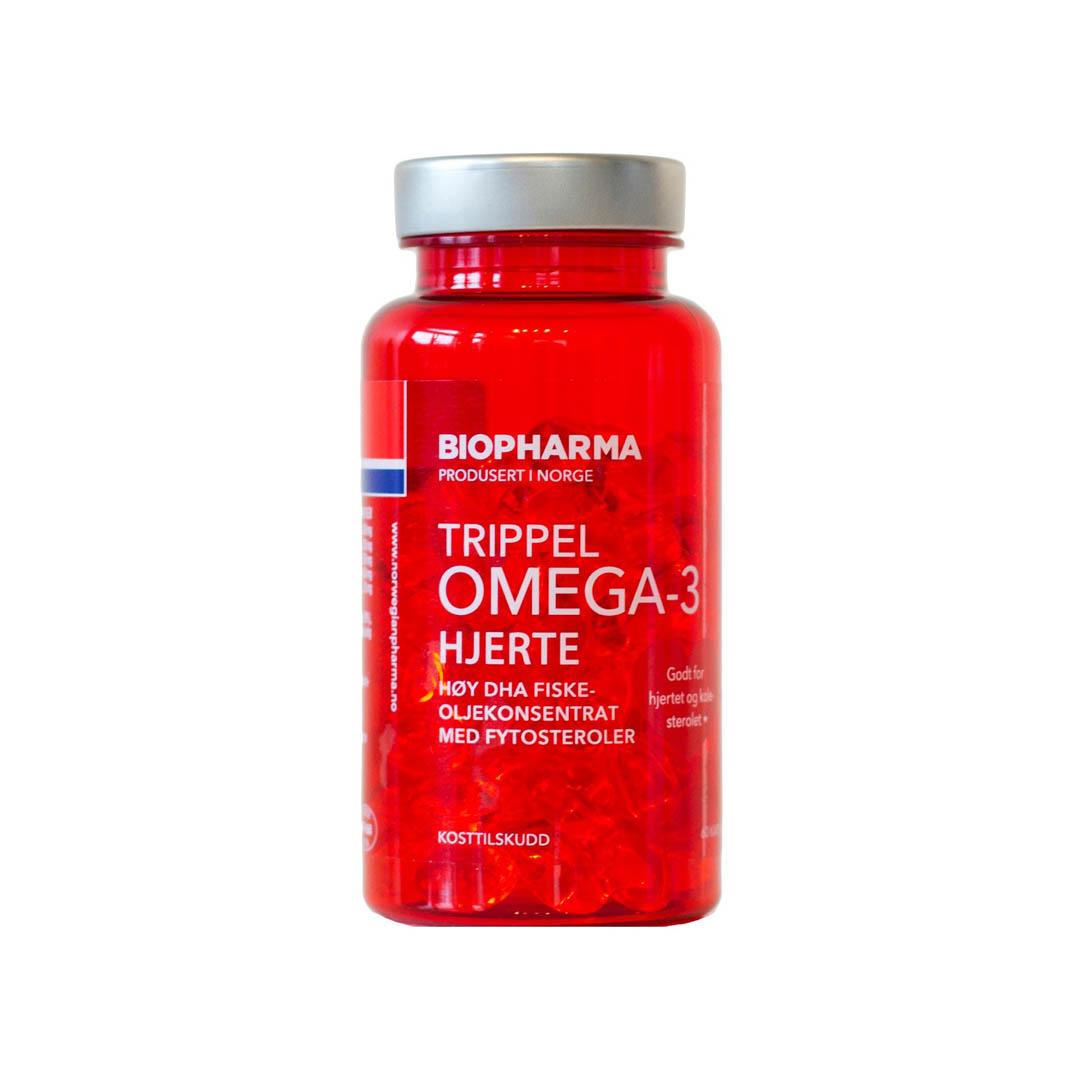Trippel Omega-3 Hjerte