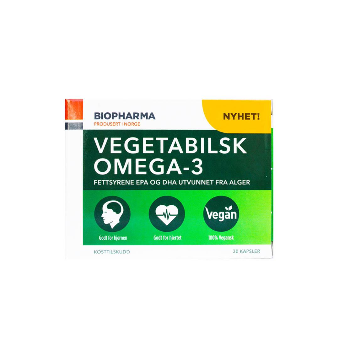 Vegetabilsk Omega-3