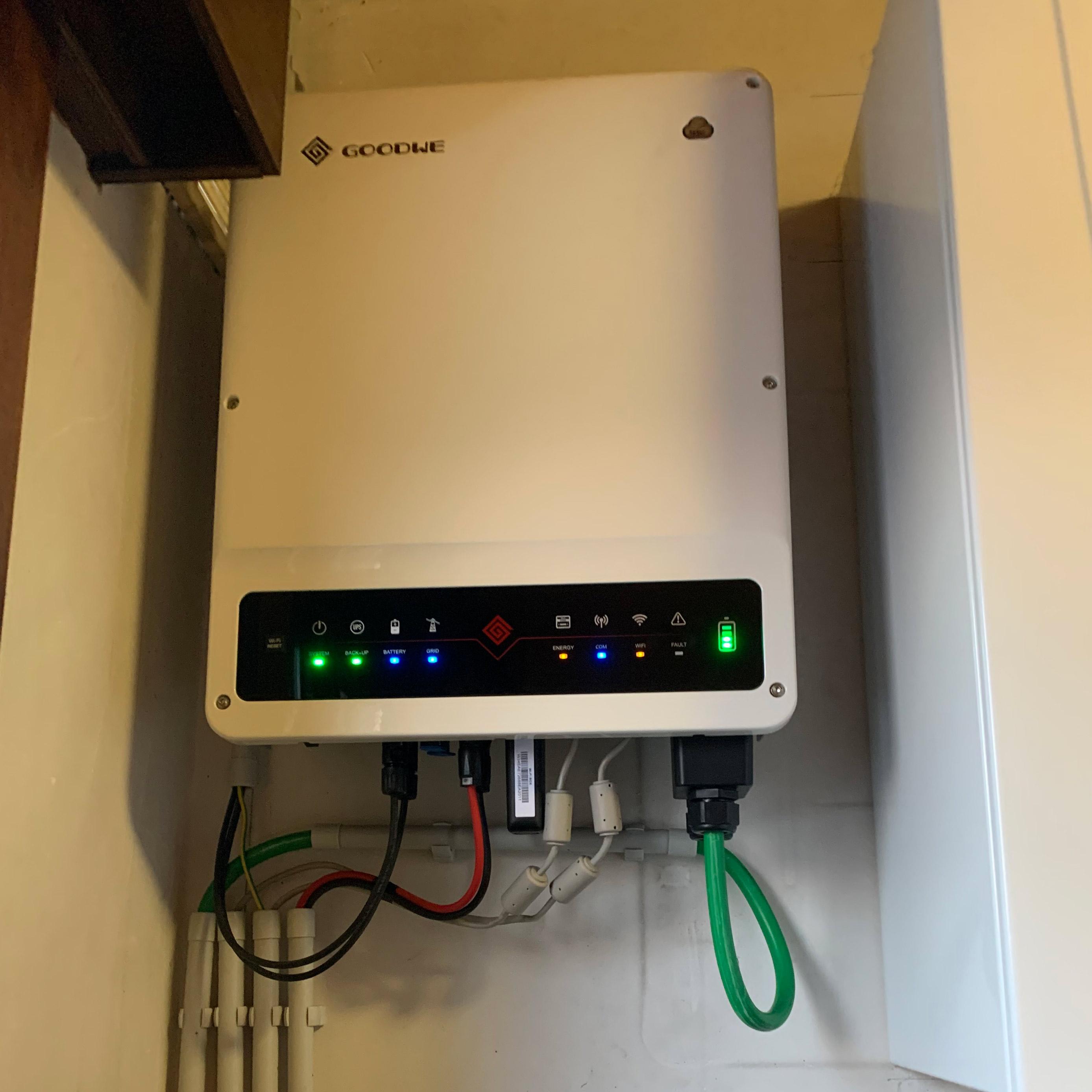 Batterij voor nieuwe en bestaande installaties