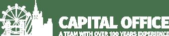Capital Office logo white