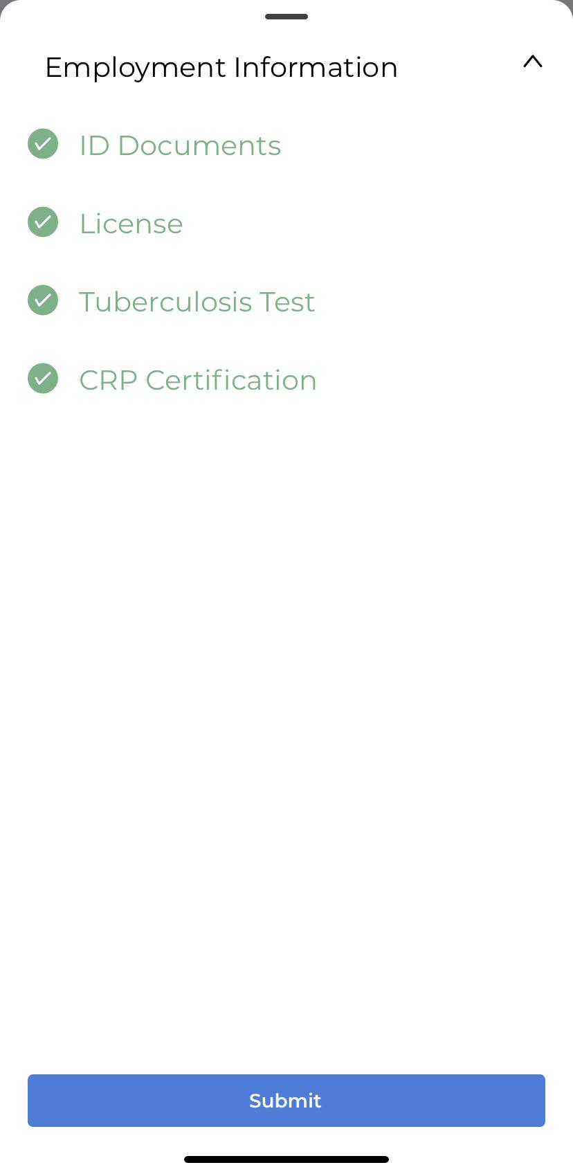 PT Nurse Documents Screenshot