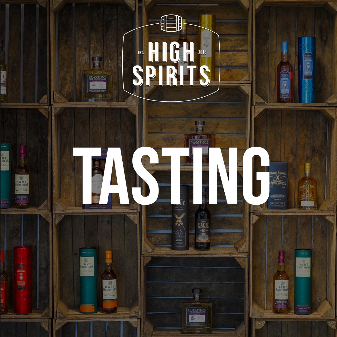 The Spirit of Wine - Whisky proeverij