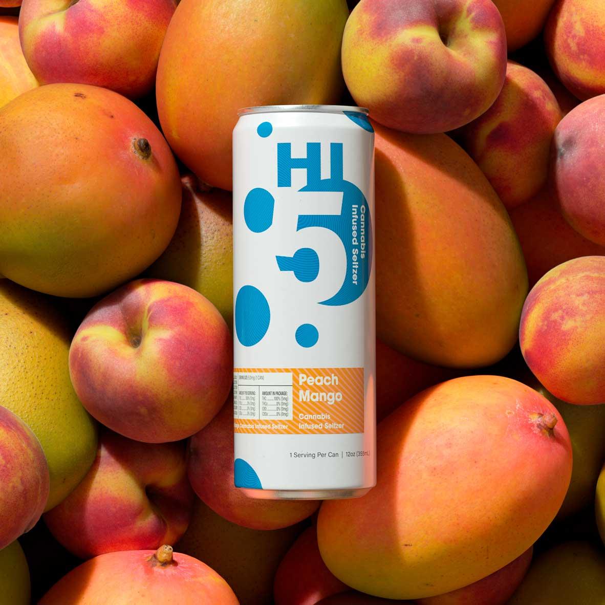 Peach Mango Seltzer