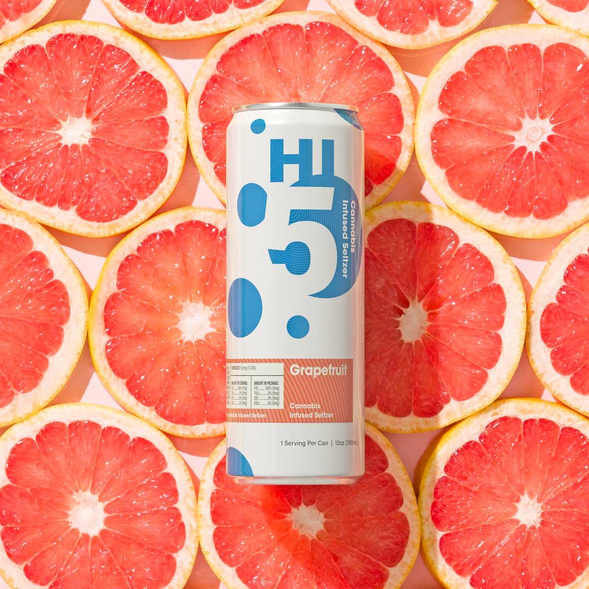 Grapefruit Seltzer