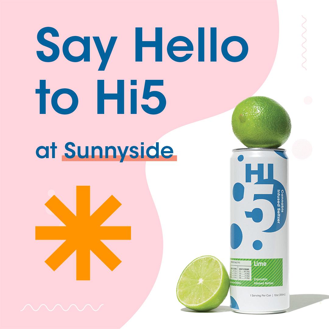 Sunnyside Dispensary | Hi5 Cannabis Infused Seltzer