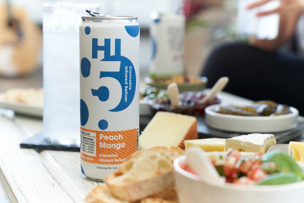 Peach Mango Hi5 | Cannabis Drink | Massachusetts