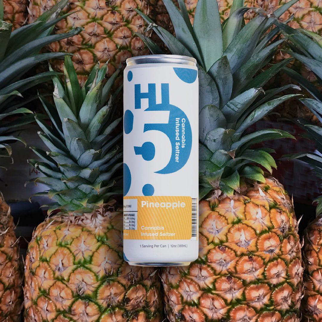 Pineapple-Hi5-Cannabis-Seltzer