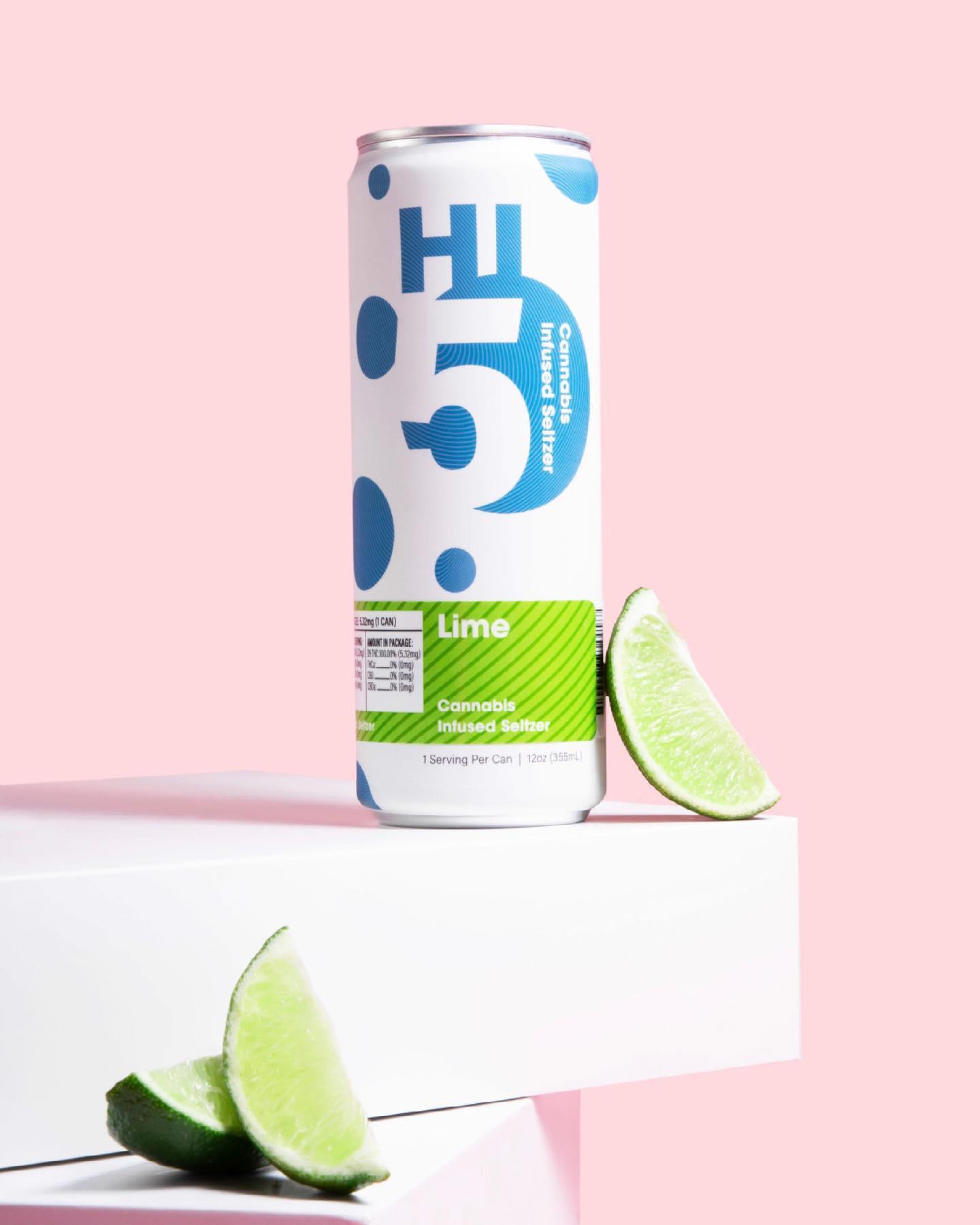 Lime-Hi5-Cannabis-Seltzer