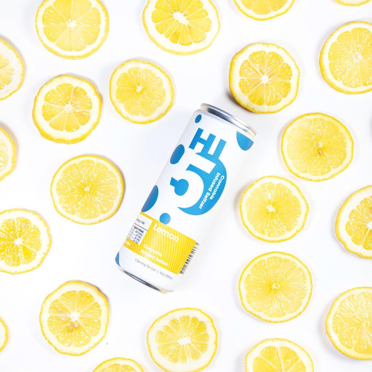 Lemon-Hi5-Cannabis-Seltzer
