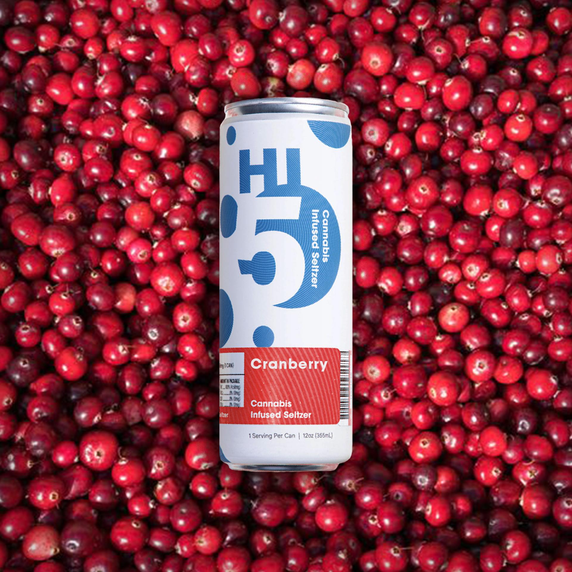 Cranberry Seltzer
