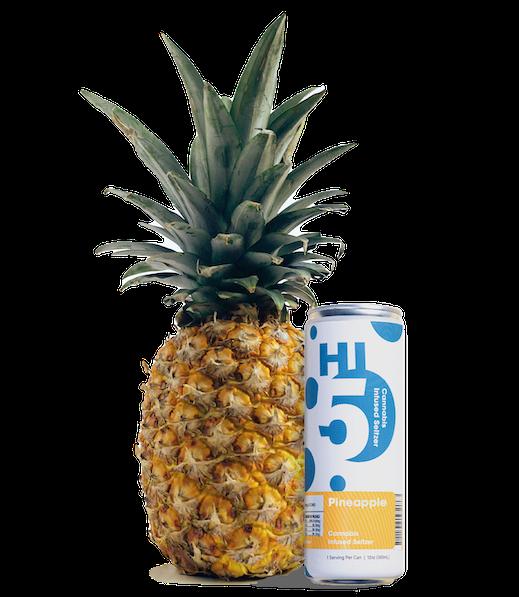 Pineapple Cannabis Seltzer