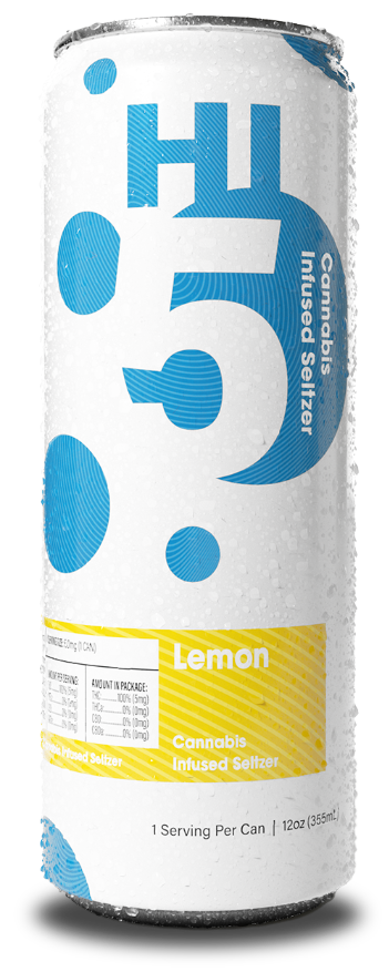 Lemon Cannabis Seltzer