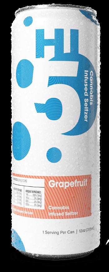 Grapefruit Cannabis Seltzer