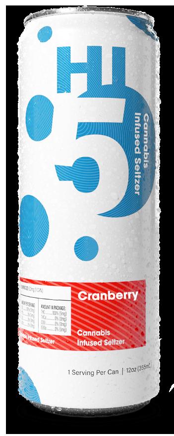 Cranberry Cannabis Seltzer