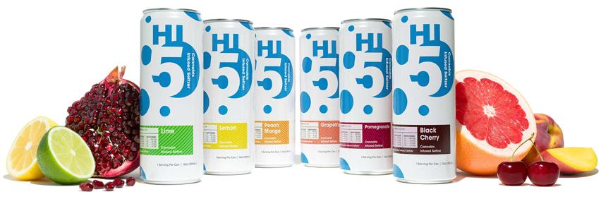 Hi5 portfolio surrounded by fruit