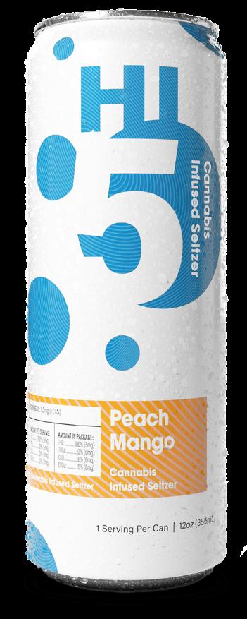 Hi5 Peach Mango can