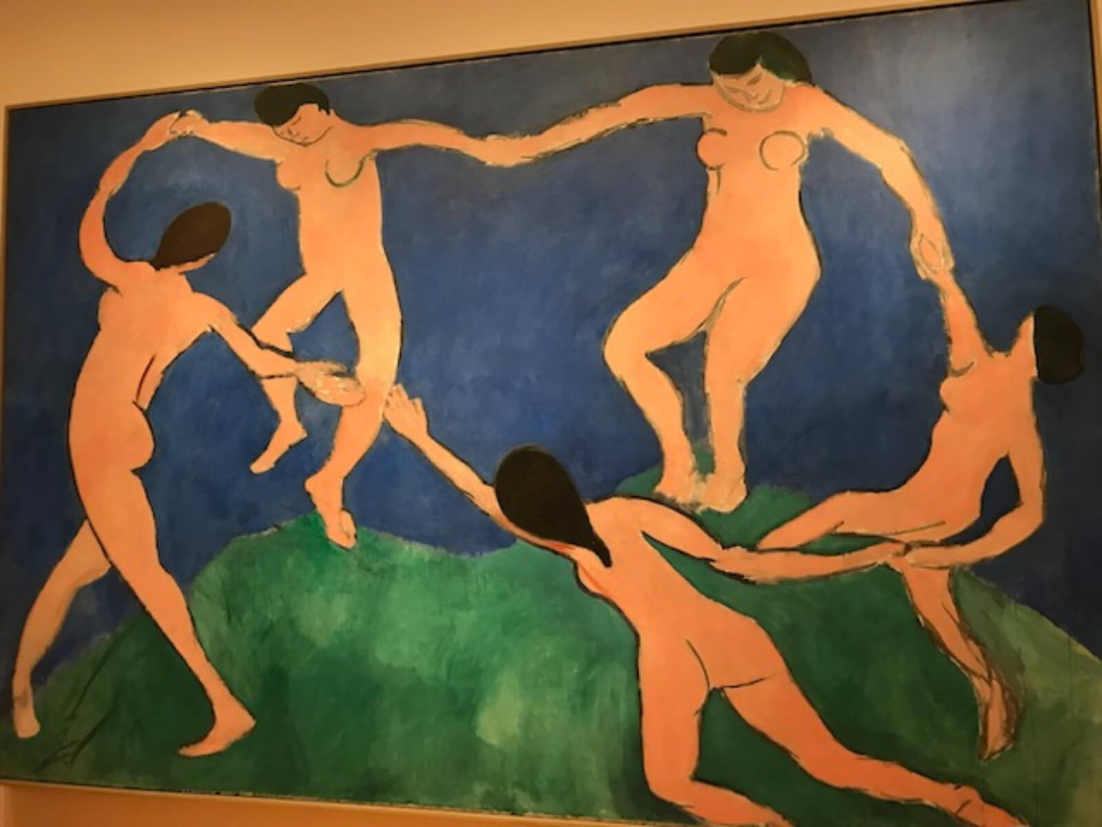 """The real Matisse painting titled """"La Danse"""" that inspired creative aspects for The Beast in the Jungle."""