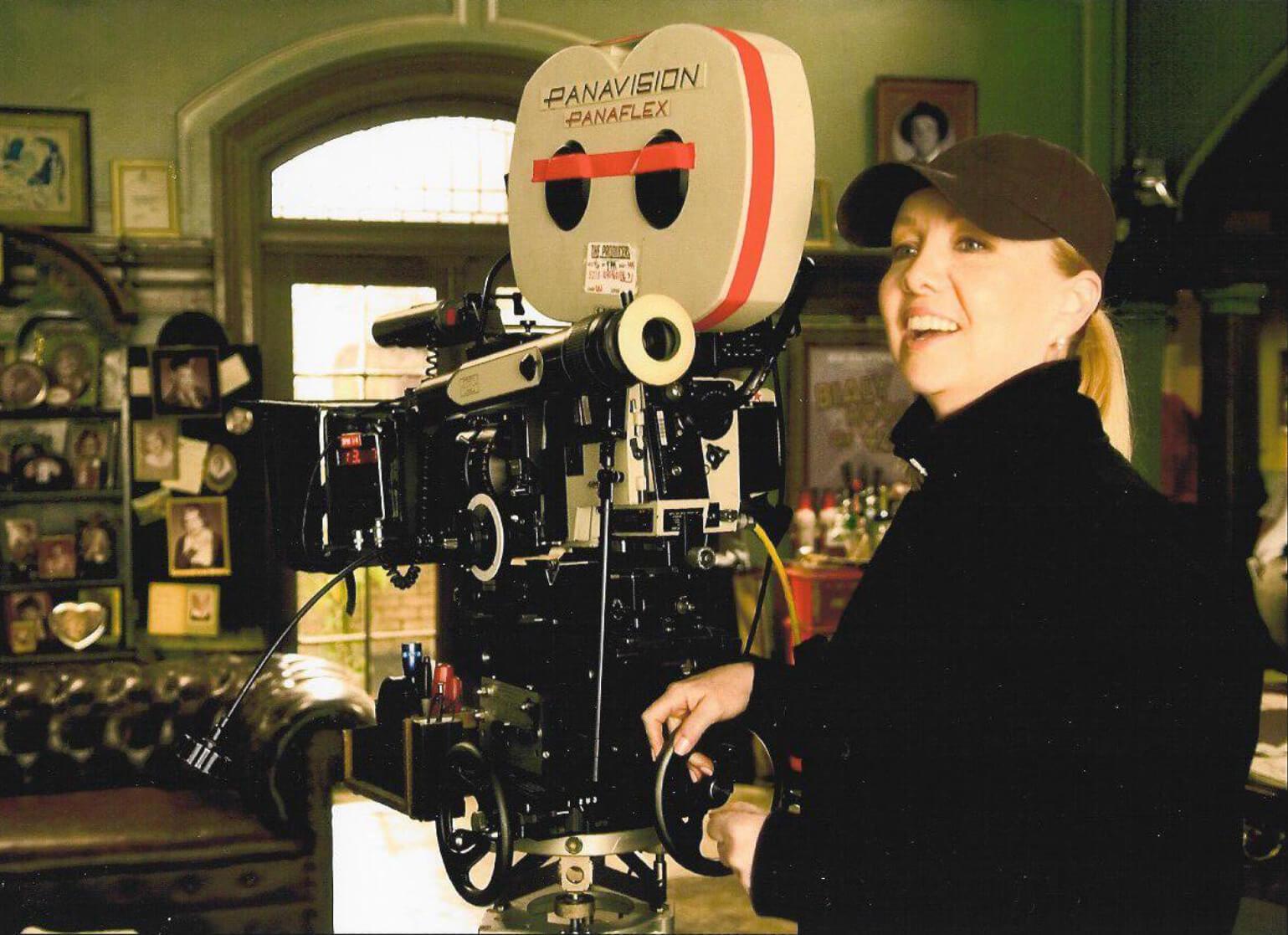 Susan Stroman behind camera.