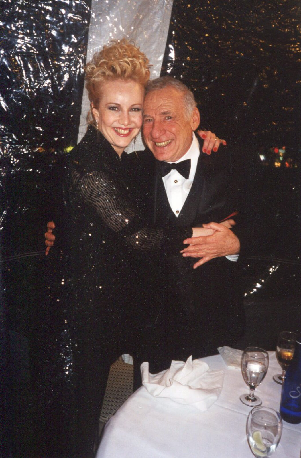 Susan Stroman and Mel Brooks at the Tony Award After-Party