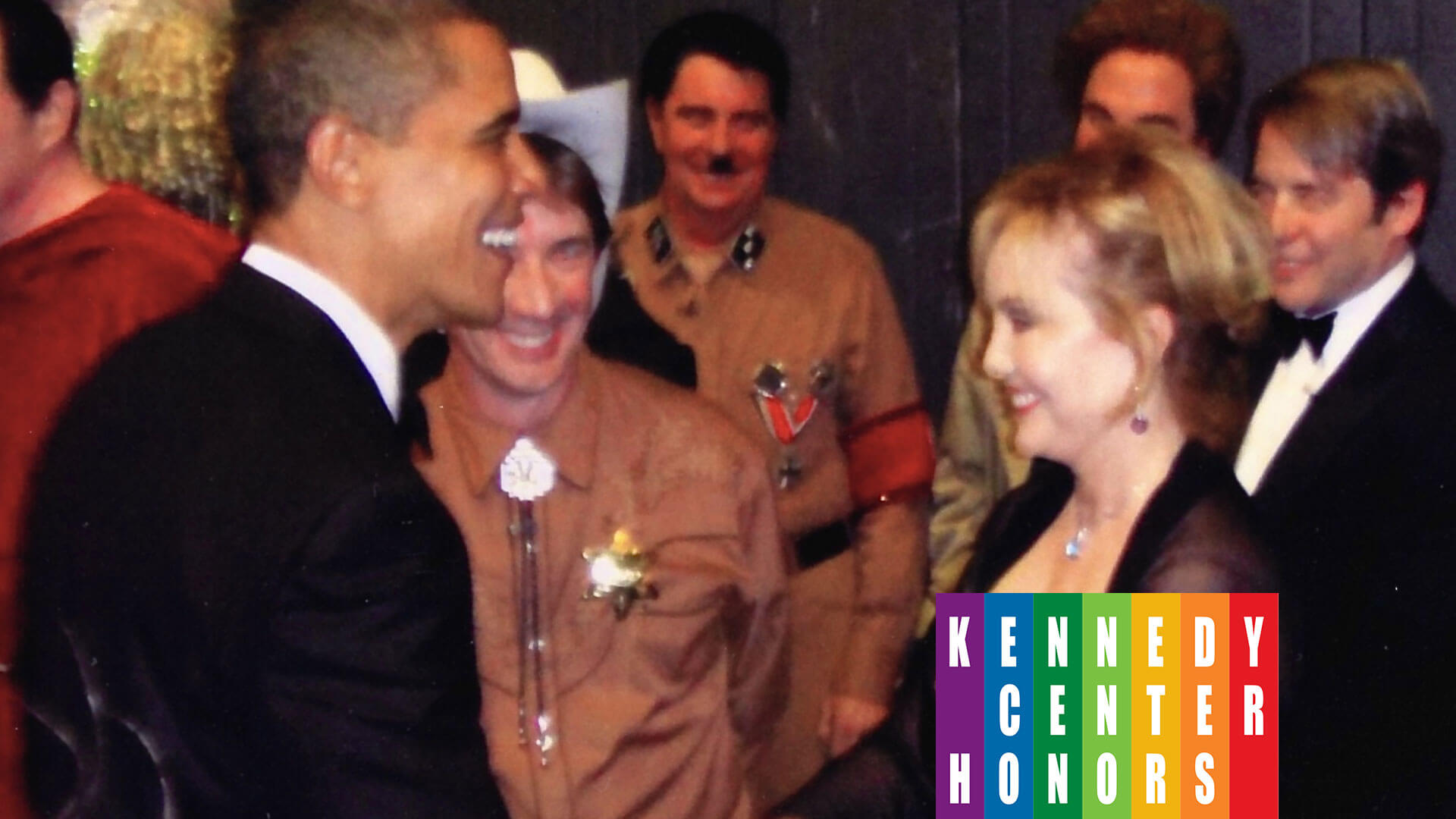 President Barack Obama congratulating Susan Stroman on her Direction and Choreography at The Kennedy Center Honors.
