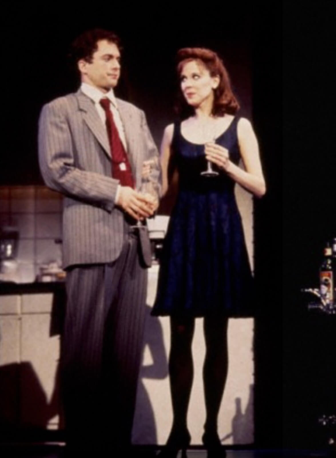 Josh (Daniel H. Jenkins) and Susan (Crista Moore) meet.
