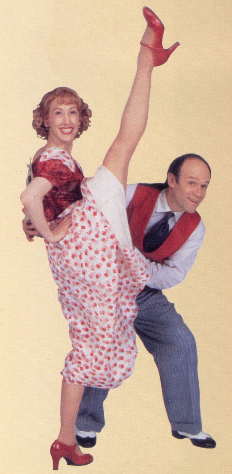 Marathon couple #17 Bette Becker (Valerie Wright) and her brother Buddy Becker (Joel Blum).