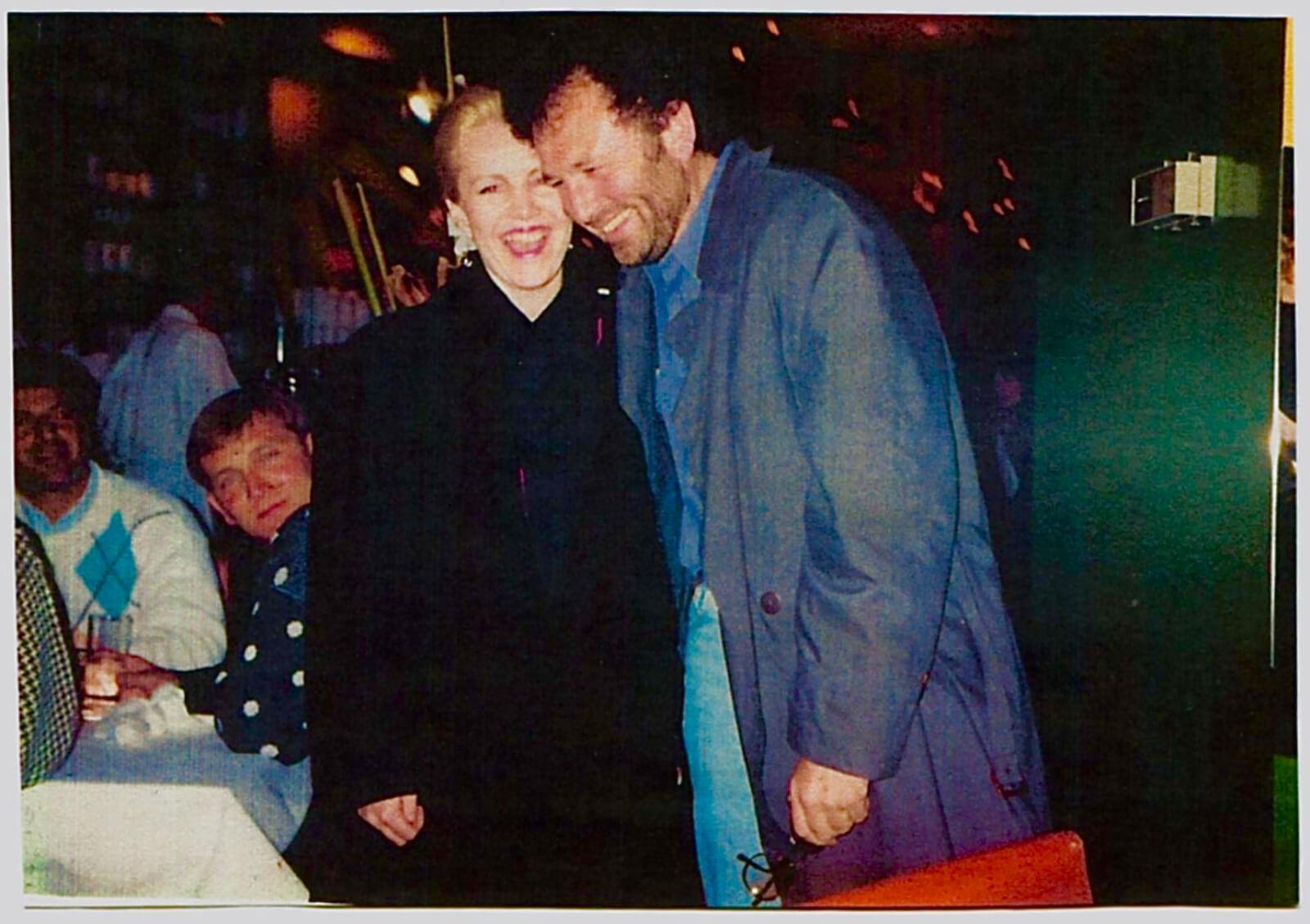 Susan Stroman and Mike Ockrent.