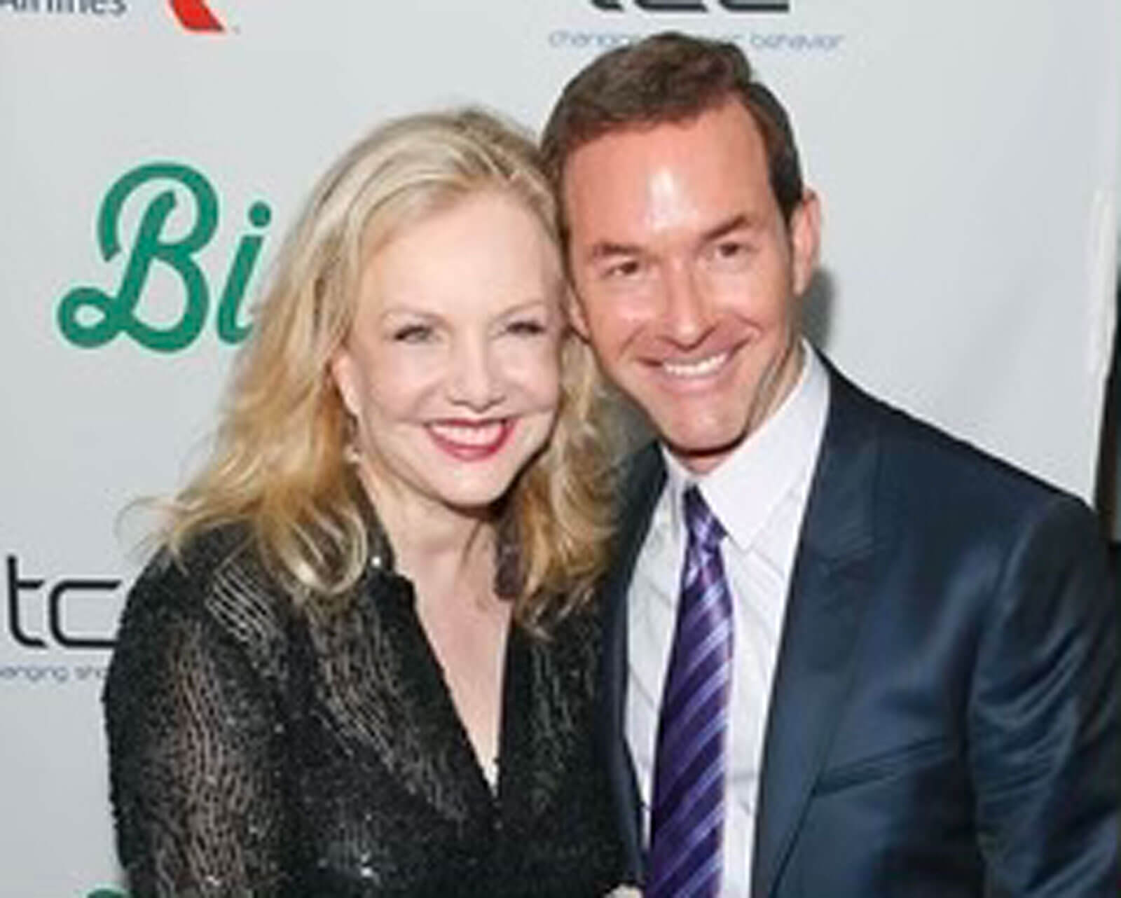 Susan Stroman and Dan Jinks (producer of Big Fish) on the red carpet on opening night.