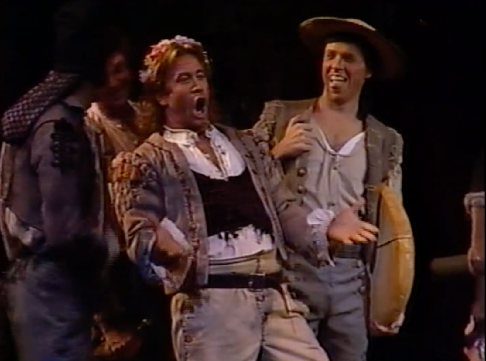 Dean Peterson in the role of Masetto. He is singing about his wedding night in Don Giovanni.