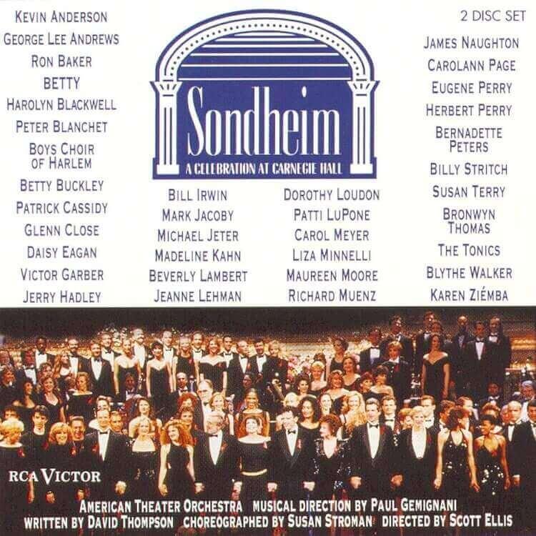 Sondheim: A Celebration at Carnegie Hall - Music Recording