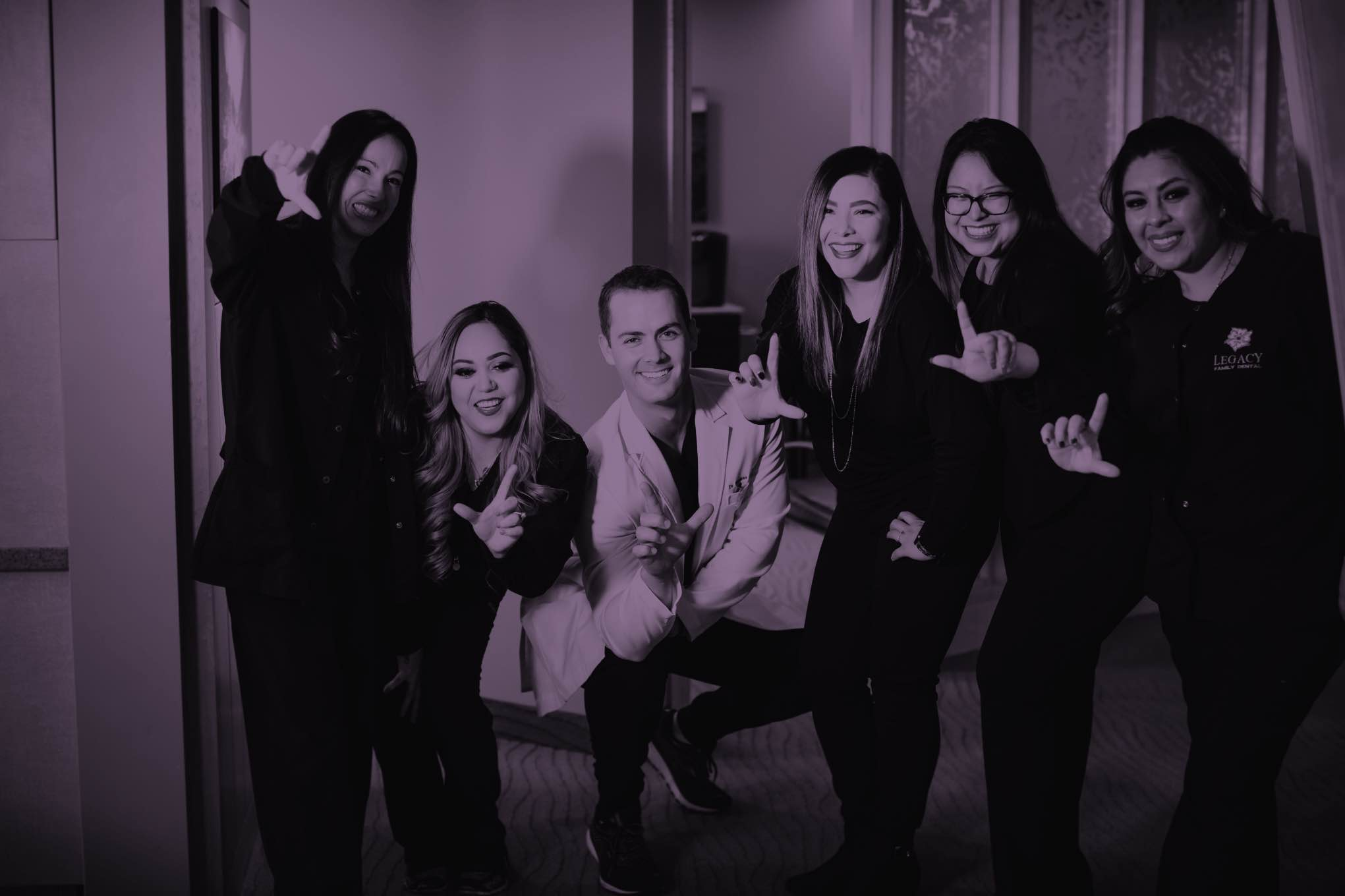 Photo of the Legacy Family Dental team