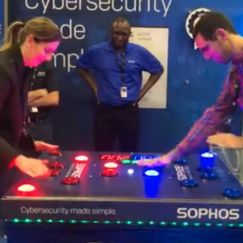 Seeking Alpha employees playing a game